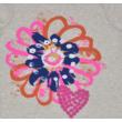 Virágmintás póló (128)
