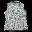 Virágos steppelt mellény (140)