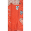 Narancs színű melegítő felső (92)