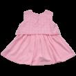 Rózsaszín hímzett ruha (98)