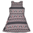 Mintás kötényruha (152-158)