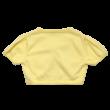 Sárga kötött boleró (122)