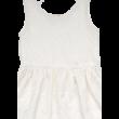 Krémszínű csipke ruha (146-152)