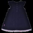 Kék mikrokord ruha (98)