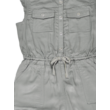 Hamvas zöld jumpsuit (128)