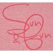 Rózsaszín melírozott póló (134-140)