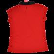 Piros piké póló (146-152)