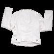 Fehér műbőr kabát (158)