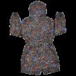 Virágos széldzseki (140)