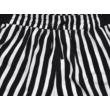 Fekete csíkos rövidnadrág (152)