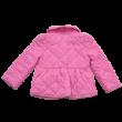 Rózsaszín steppelt Benetton kabát (86-92)