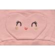 Rózsaszín lány babapulóver.