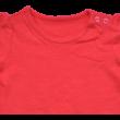piros rövid ujjú kislány póló