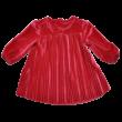 alkalmi piros bébi ruha