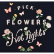 Virágos H&M lány póló.