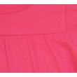 Rózsaszín pamut gyerek tunika rövid ujjal.