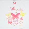 Pillangó mintás lány póló.