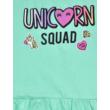 Menta színű pamut nyári gyerekruha