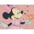 Minnie, púderszínű rugdalózó (56-74)