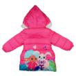 Bing nyuszi rózsaszín lány télikabát (98-116)