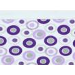 Minnie lila karikás tipegő hálózsák (68-86)