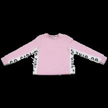 Rózsaszín melegítő felső (140)