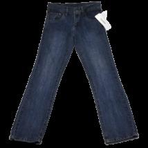 Bronzgombos kék farmernadrág (146)