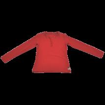 Piros fodros felső (146)