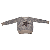 Csillagmintás pulóver (146)
