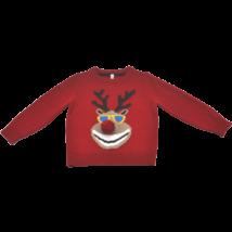 Kötött rénszarvasos pulóver (98)