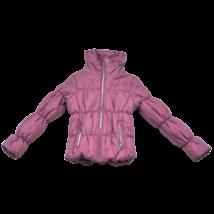 Rózsaszín steppelt kabát (152)