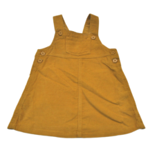 Mustár színű kantáros szoknya (74-80)
