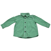 Zöld-Fehér kockás ing (74)