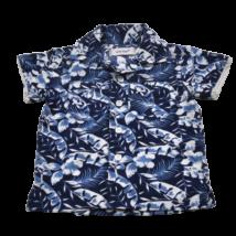 Levél mintás ing (74-80)