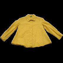 Mustár színű mintás ing (98)