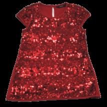 Piros, flitteres ruha (104-110)