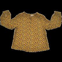 Mustár színű ingblúz (152)