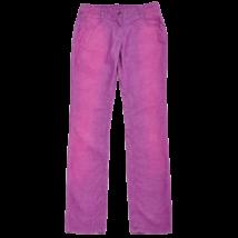 Lila koptatott mikrokord nadrág (164)