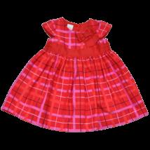 Piros kockás ruha (80)