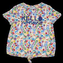 Megkötős virágos póló (146)