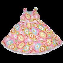 Virágos ruha (92-98)