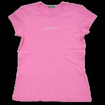 Rózsaszín strasszos póló (134-140)