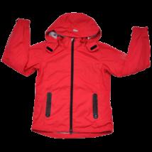Piros átmeneti kabát (164)