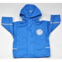 Zebrás kék kabát (80-86)