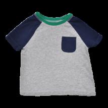 Kék zsebes póló (92-98)