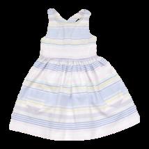 Csíkos keresztpántos ruha (92)