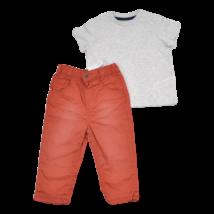 Rozsda színű nadrág szett (80)