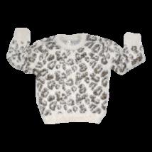 Leopárdmintás pulóver (98)