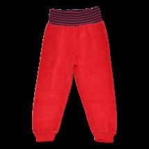 Piros melegítő alsó (86-92)