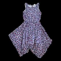 Kék leopárdmintás ruha (140)